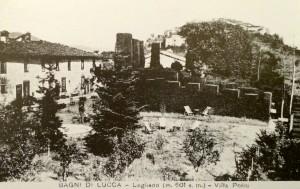 3 Cartolina d'epoca Villa Politi - Lugliano