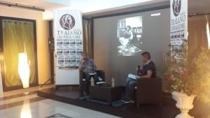 Osvaldo Carigi e Giancarlo Pavat durante la conferenza