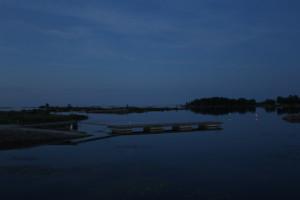 2 Notte scandinava estiva sul Vanern presso Mellerud - Svezia