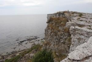 Le Scogliere di granito di Hoburg, sulla punta più meridionale di Gotland nel Baltico