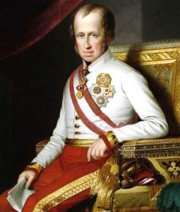 L'Imperatore Ferdinando I° d'Asburgo