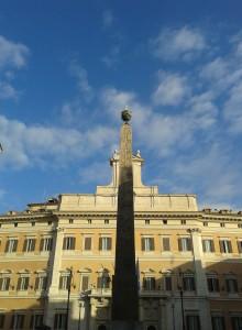 Obelisco egizio di piazza Montecitorio a Roma