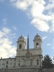 Obelisco di Santa Trinità dei Monti a Roma
