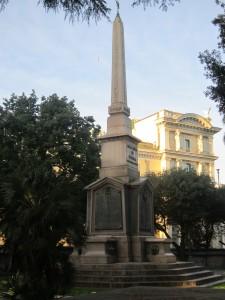 Obelisco egizio di via delle Terme di Diocleziano a Roma