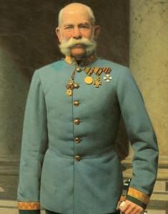 L'Imperatore Francesco Giuseppe I° d'Asburgo