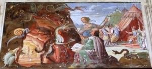 Scena della Gerusalemme Liberata
