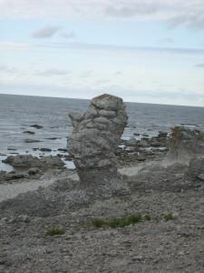 17 Un altro volto che scruta il mare a Langhammars