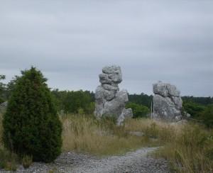 20 Raukar di Malms-Kyllaj a Gotland