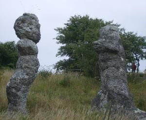 23 Raukar di Malms-Kyllaj-Gotland