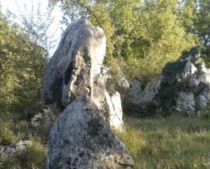 3 Megaliti del sito di Ceccano