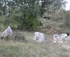 5 Megaliti del sito di Ceccano