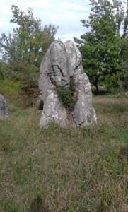 Menhir di Ceccano - foto R Adinolfi