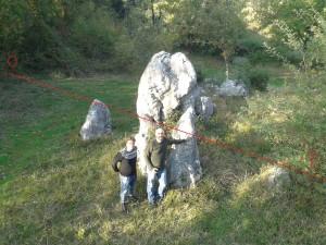 allineamento megalitico
