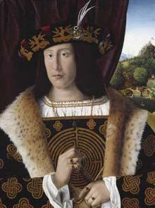 10 Bartolomeo Veneto 1510 - ritratto di Uomo con labirinto