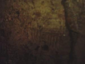 18 Valvisciolo LT-Altro Nodo di Salomone  sulla parete del Chiostro