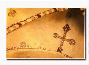 22 Maarian  kirkko  a Turku-SF-Nodo di Salomone e labirinto affrescati