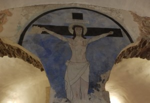 Il Crocifisso del castello dei Conti di Ceccano