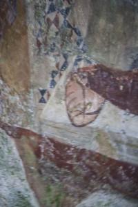 Part. del piede destro del Cristo del Santuario del Crocifisso a Bassiano LT - foto F. Consolandi