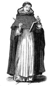 Così vestiva Tommaso d'Aquino con l'abito dei Domenicani