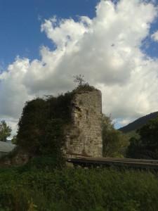 Ruderi della Torre della Mola di Maenza