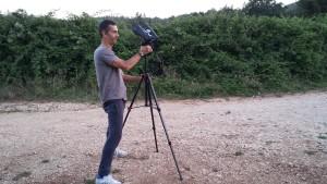 Alessandro Middei, coordinatore del Mistery Team impegnato nella spedizione di Skywatching dell'agosto 20114 presso la piana di San Salvatore di Mileto