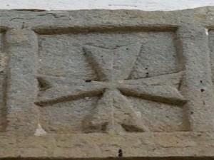 Croce a coda di rondine o Croce giovannita o maltese