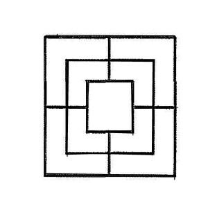 Simbolo della Triplice Cinta – disegno G Pavat