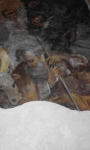 Ceccano - Chiesa S Sebastiano Xv sec -S Giuseppe con sei dita tela del XVII sec