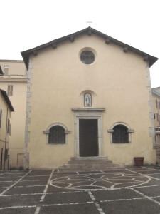 Ceccano FR -Chiesa S Sebastiano 6-12-2015
