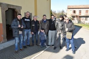 1 Dream Team del Mistero davanti alla Madonna delle Grazie)