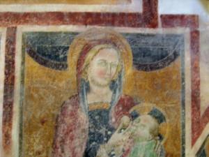 14 ALATRI FR- Chiesa della Maddalena - Maria lactans