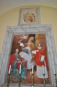 5 Ceccano - quadro sopra l'altare della Madonna delle Grazie