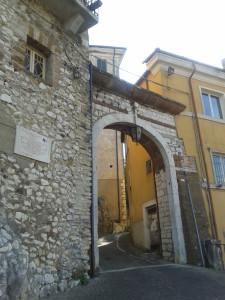 5 Ingresso esterno castello di Ceccano