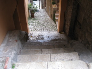 55 via Nazario Sauto - TC su gradini