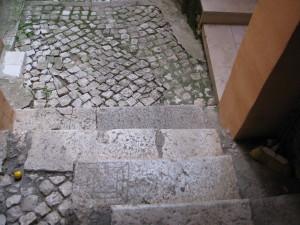 56 via Nazario Sauro - TC su gradini