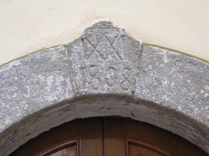 7 Corso Italia - monogramma Ave Vergine Maria