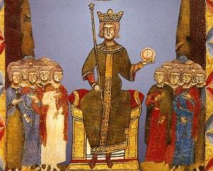 Federico II - Pergamena XIII sec - Salerno Museo Diocesano