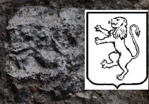 Leone rampante scoperto a Ceccano da G Pavat