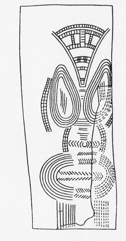 1 Dea incisa su avorio di mammuth