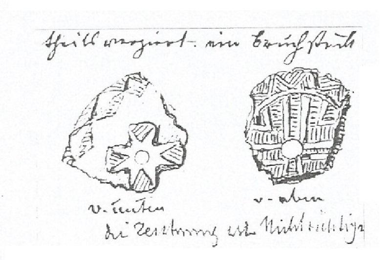 3 framm coppa su piede Grotta del pettirosso