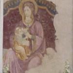 """La """"Madonna che allatta"""" del Santuario della Madre SS. detta delle Rose"""" di Piglio (FR) di Giorgio Pacetti"""