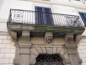 Portone palazzo Gizzi a Ceccano