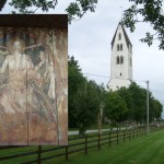 """La """"Rosa Camuna""""…dall'Adriatico al Baltico! Un simbolo misterioso nella Gothemkyrka a Gotland."""