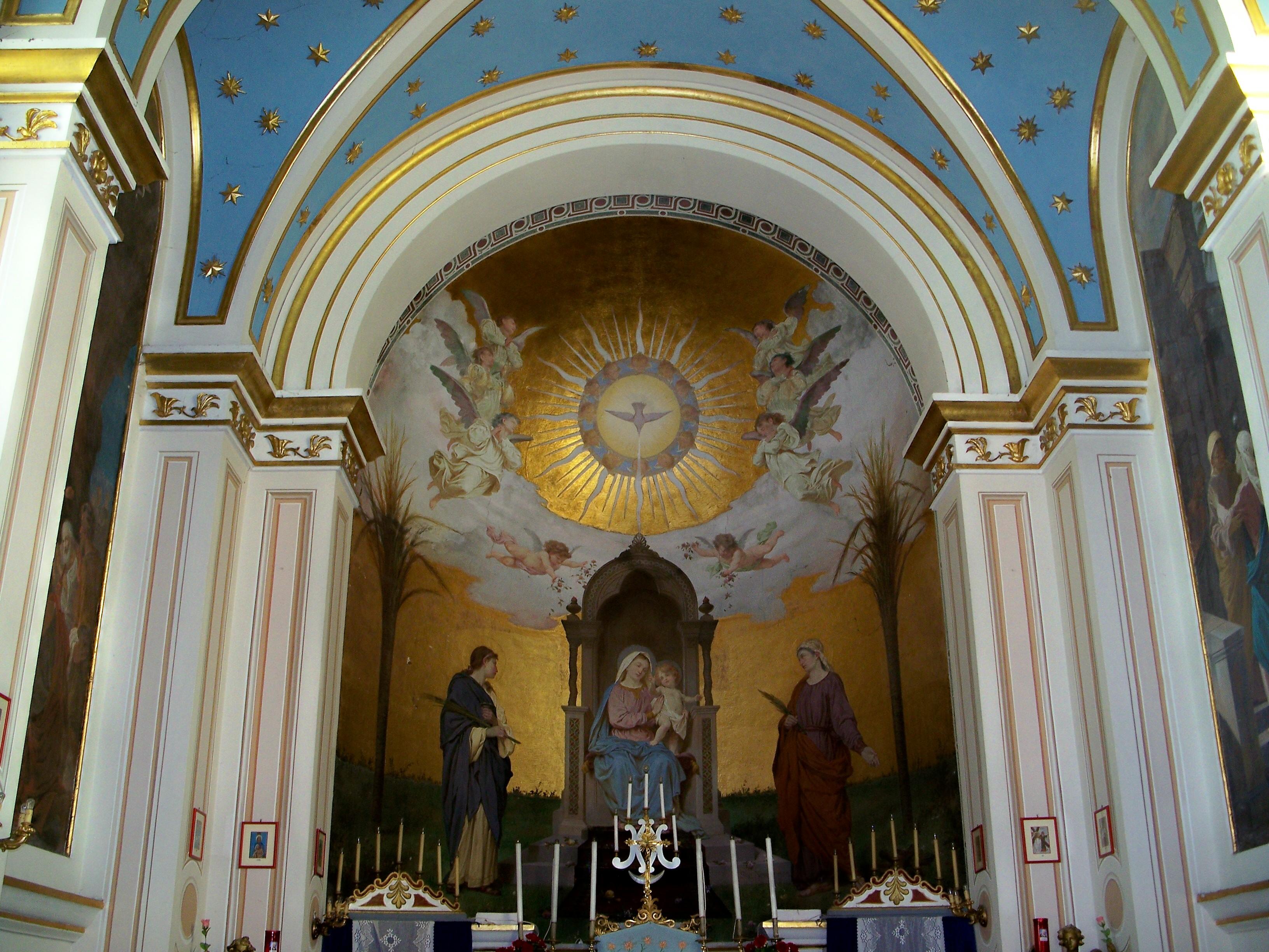 10 patrica - interno Madonna della Pace