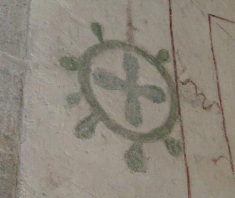 104 - Croce pomata o rosa camuna