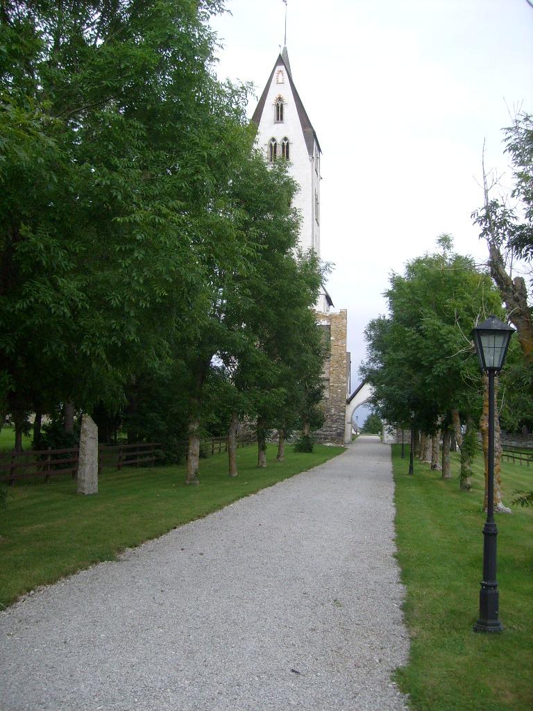 81 viale di accesso alla Gothemkyrka