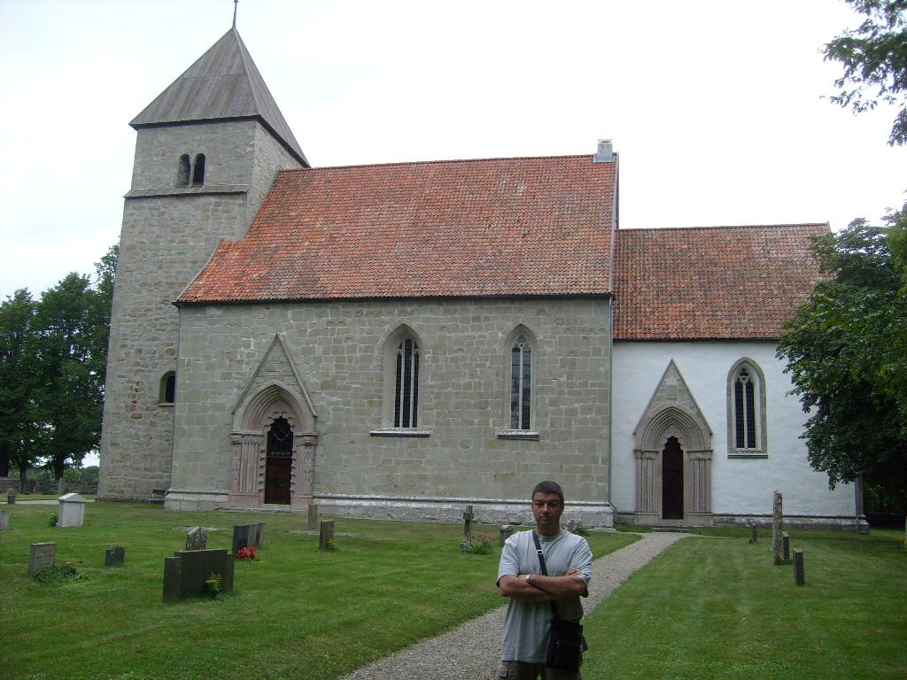 Hablingbokyrka a Gotland