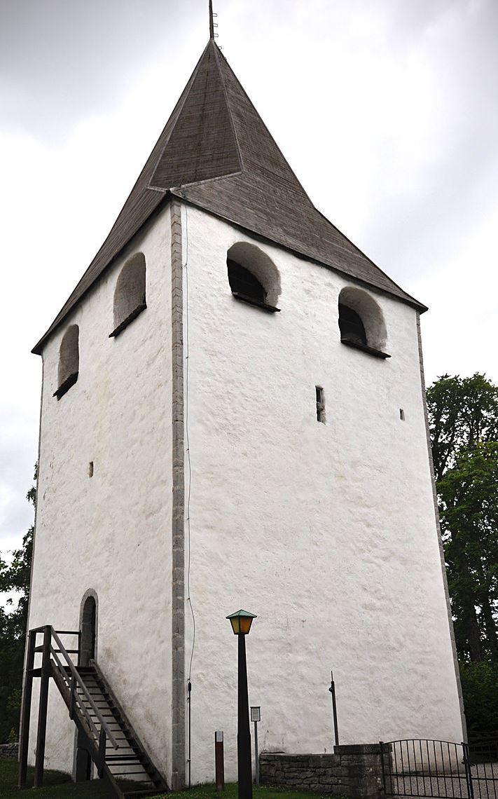 Lärbro kyrka - torre difesa - Gotland 2012