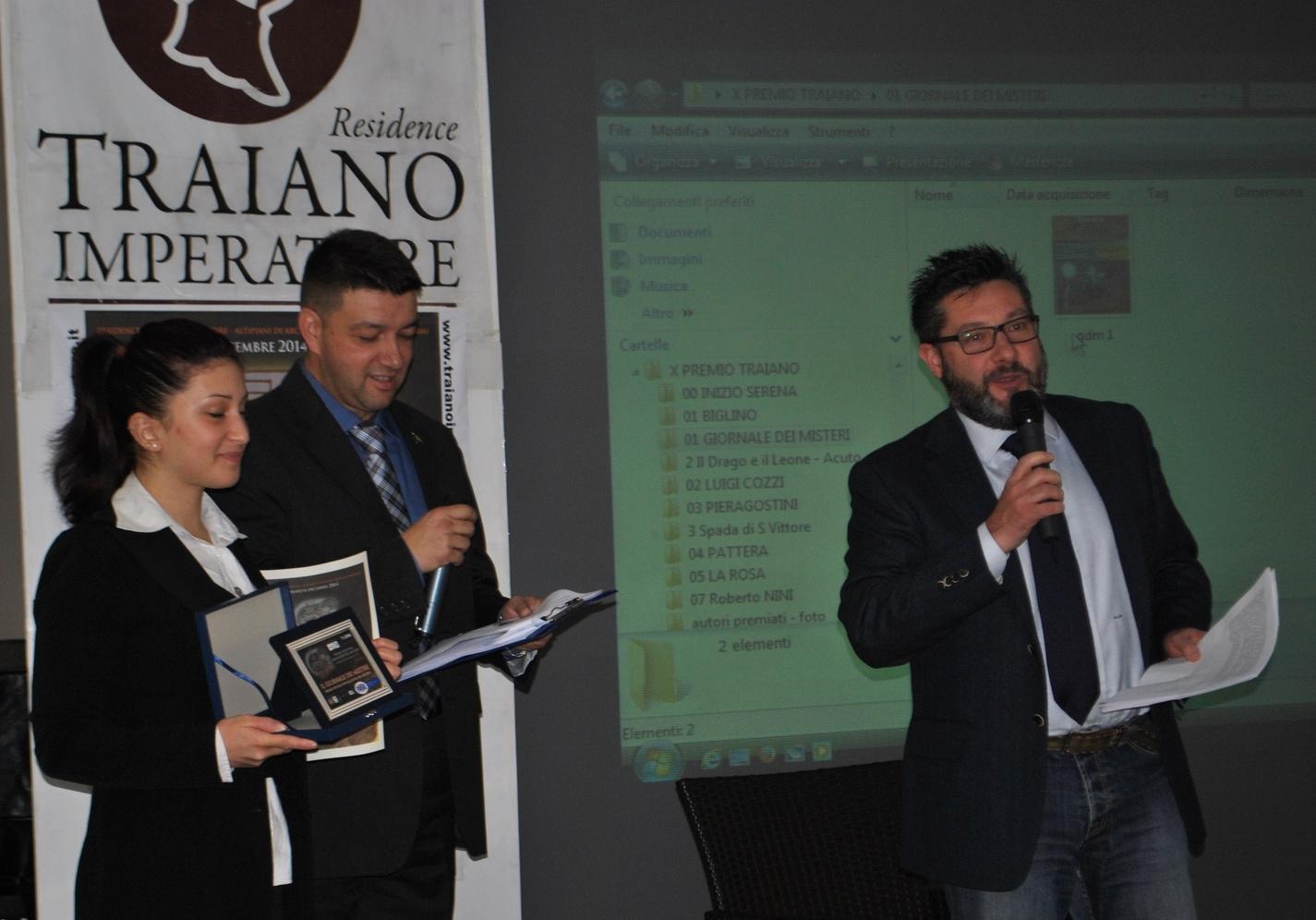 Premiazione Marco La Rosa