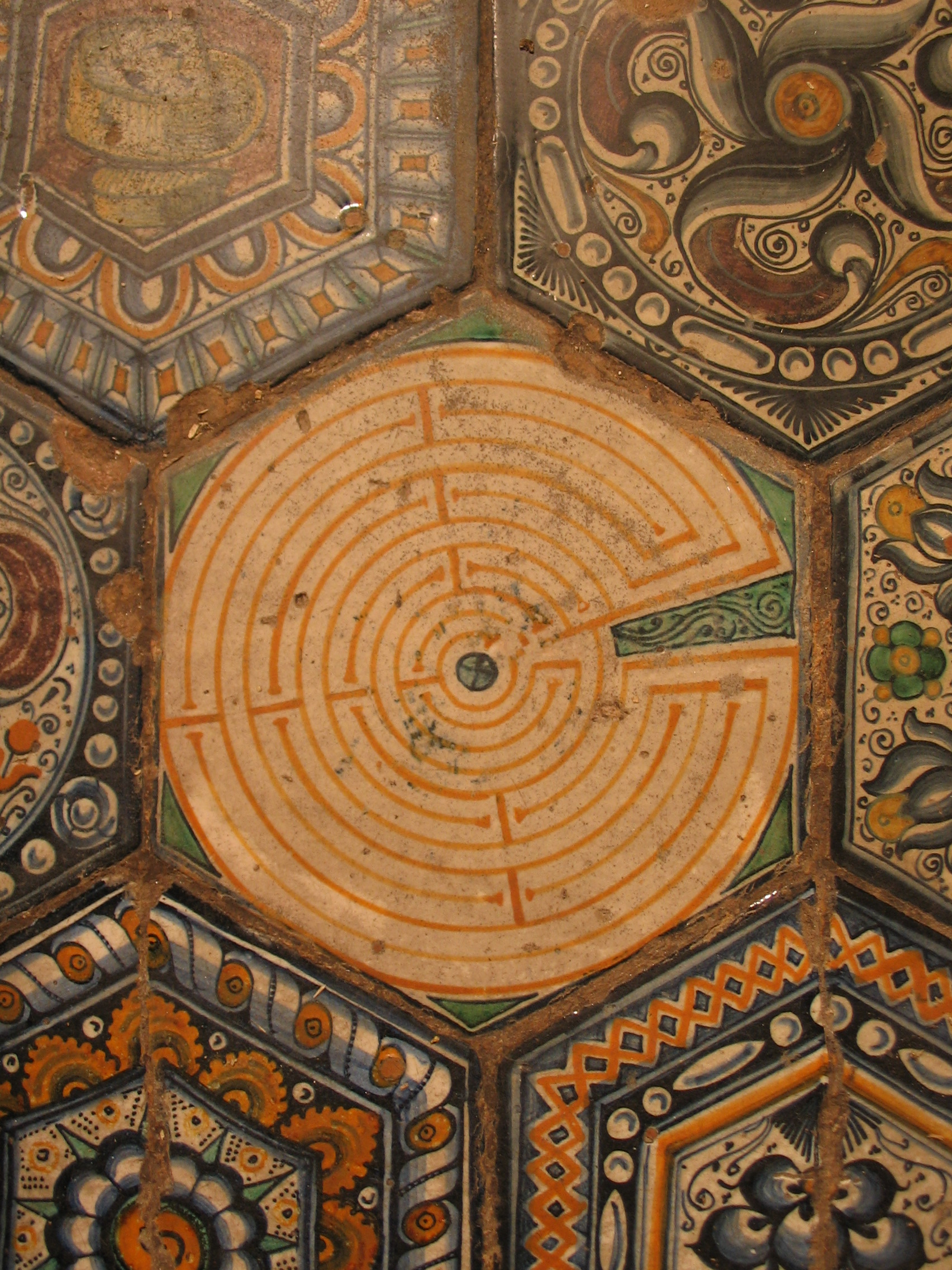 The Labyrinth of S Petronio - Bologna - Italy